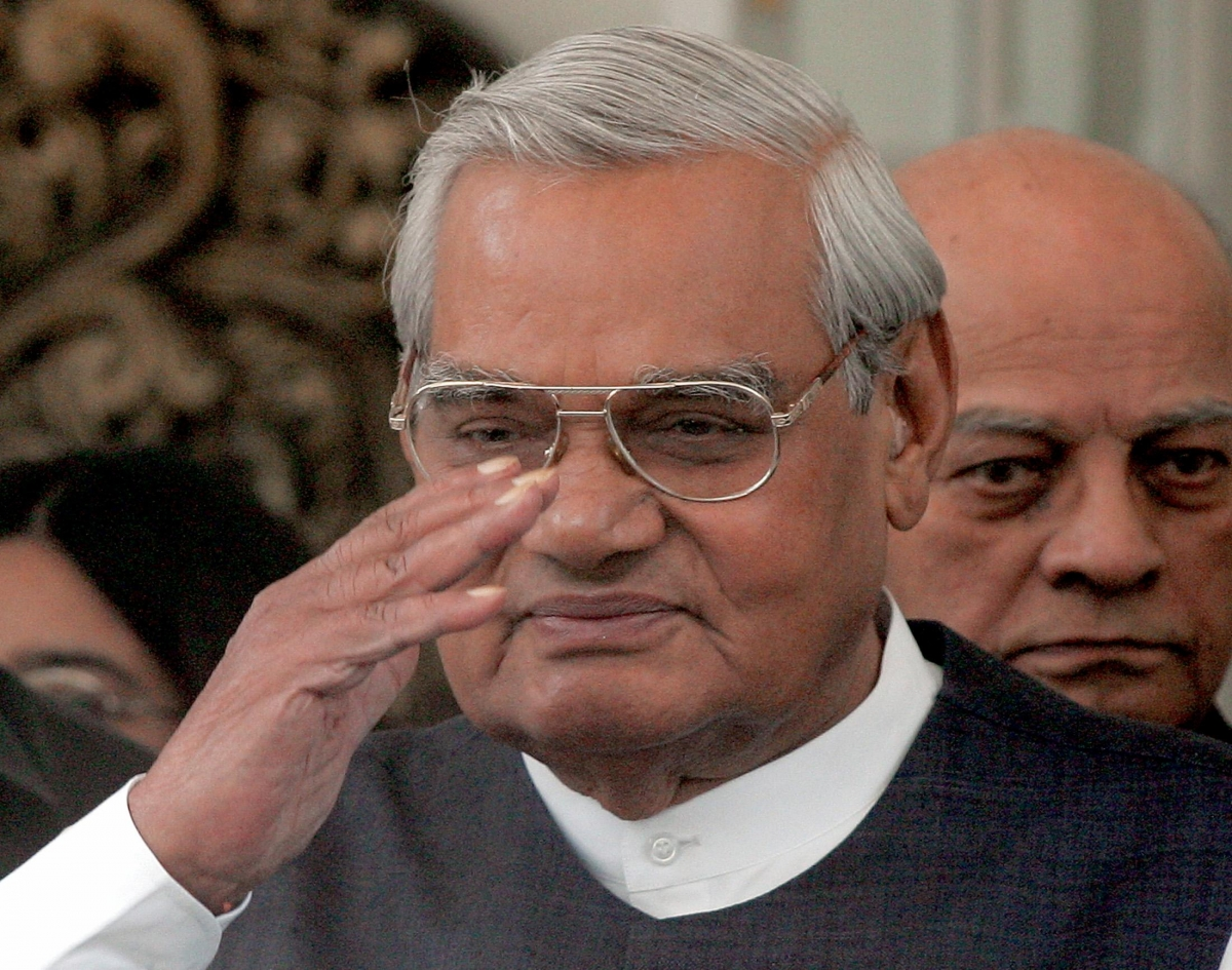 Former Indian Prime Minister Vajpayee
