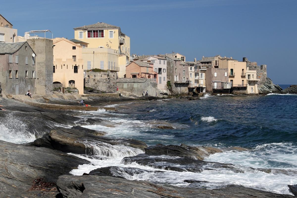 French Mediterranean island of Corsica