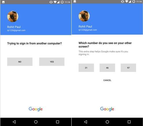Google testing password free log-ins