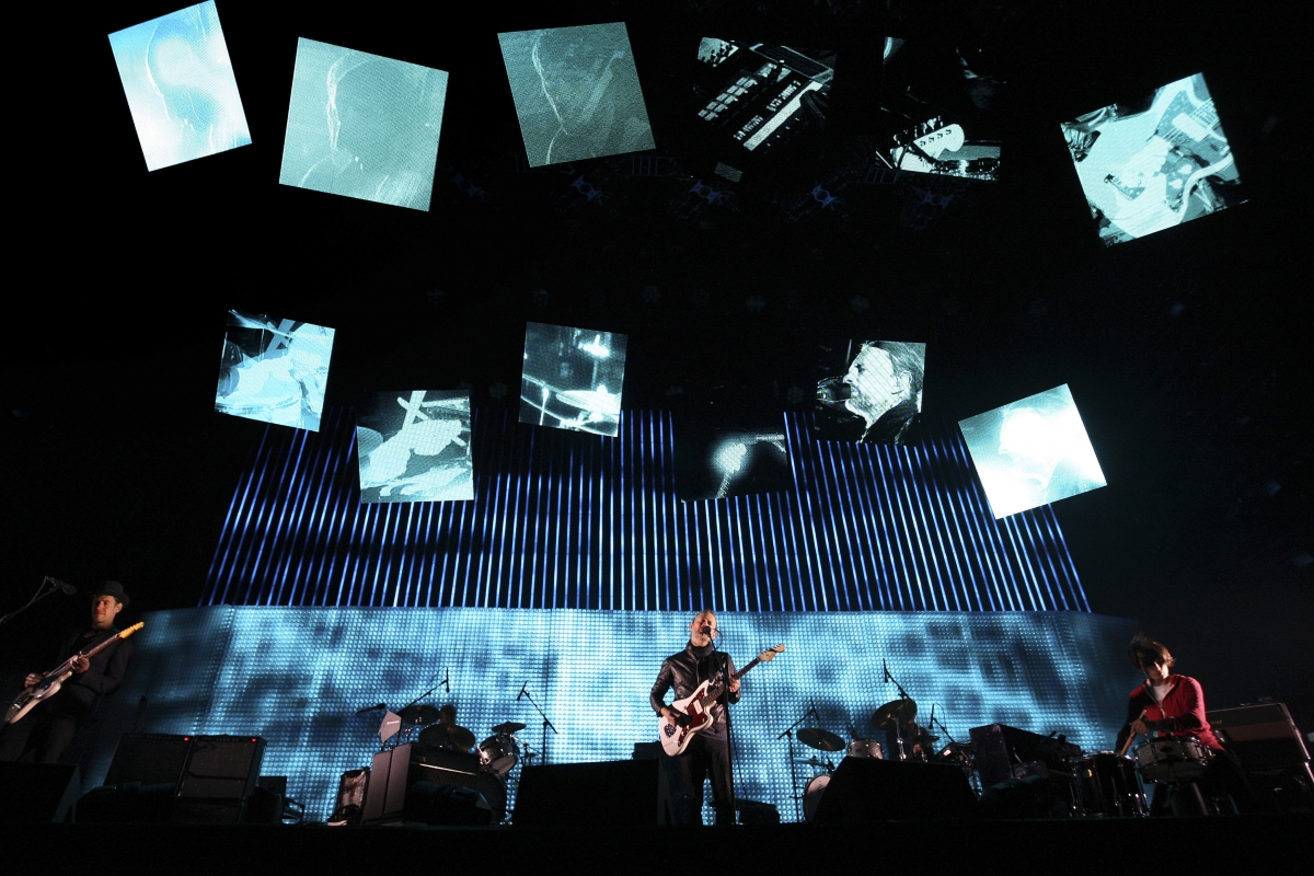 Radiohead concert, Indio