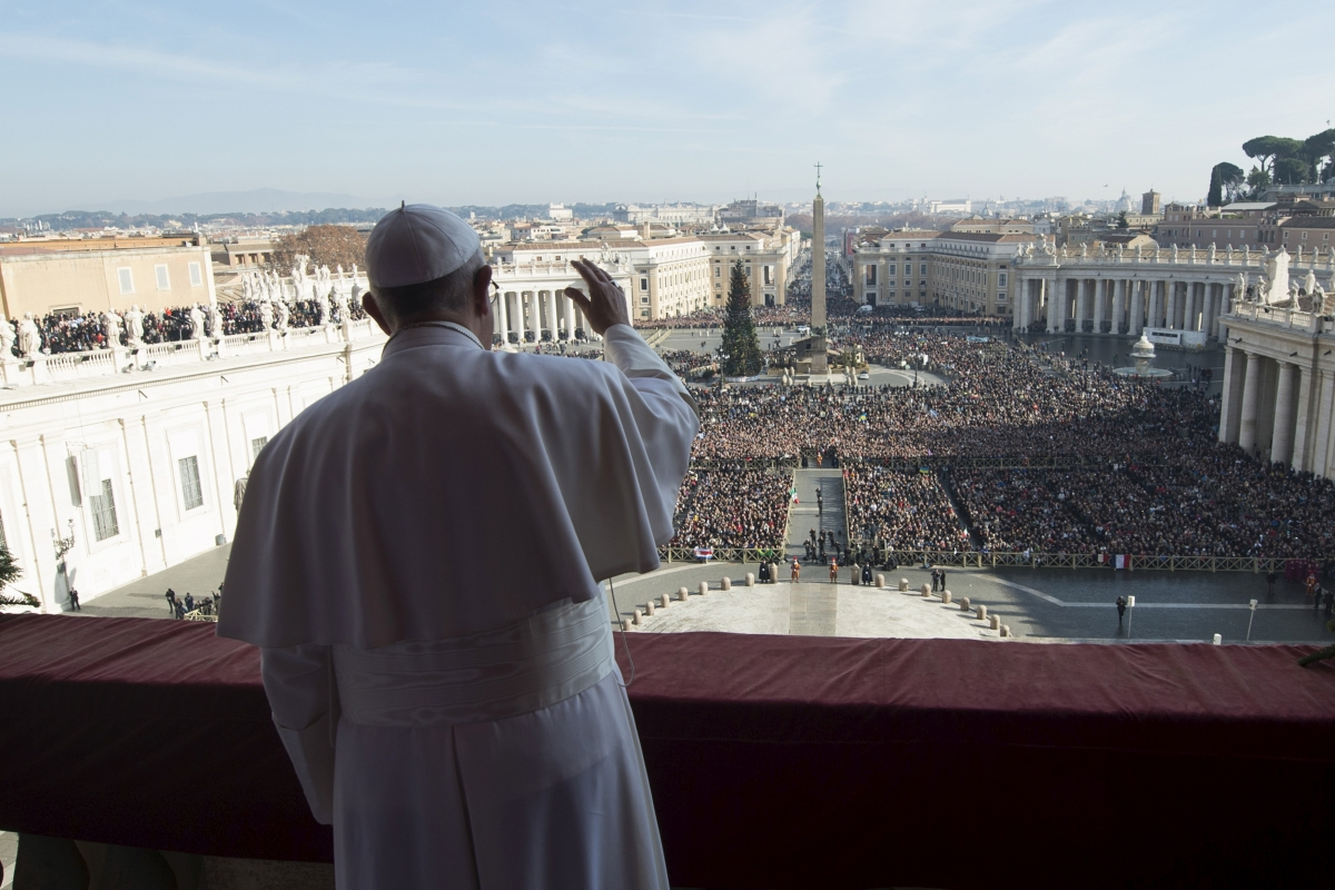 Pope on Christmas