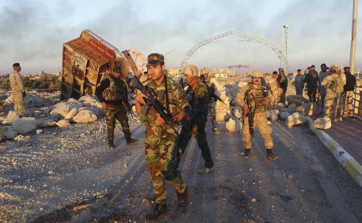 Iraqi security forces ramadi isis