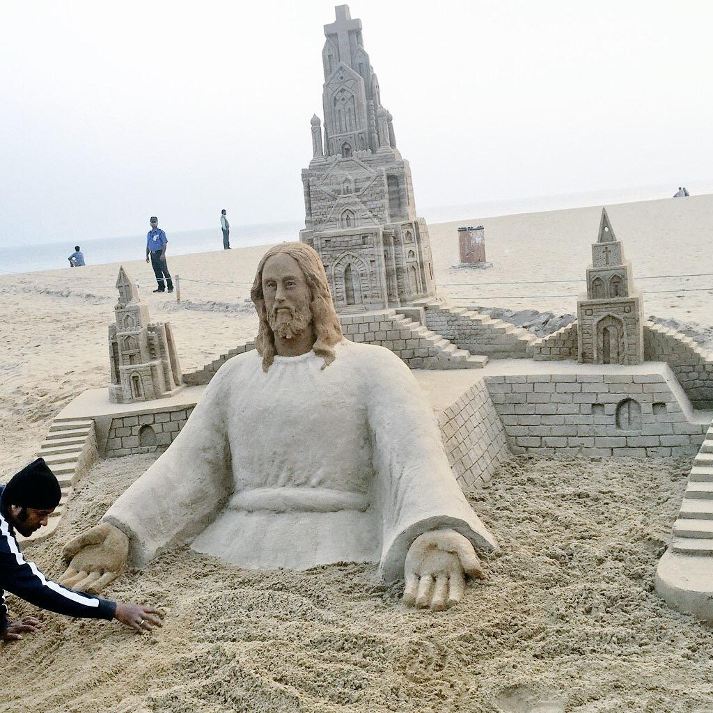 Sand Santa