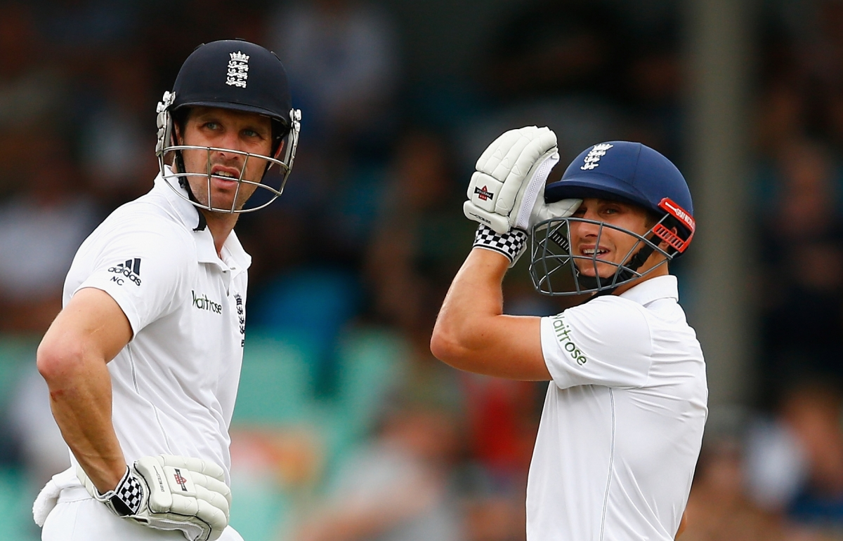 Nick Compton and James Taylor