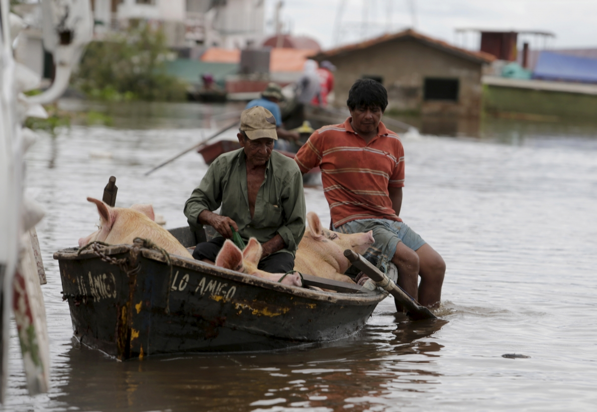 South America floods