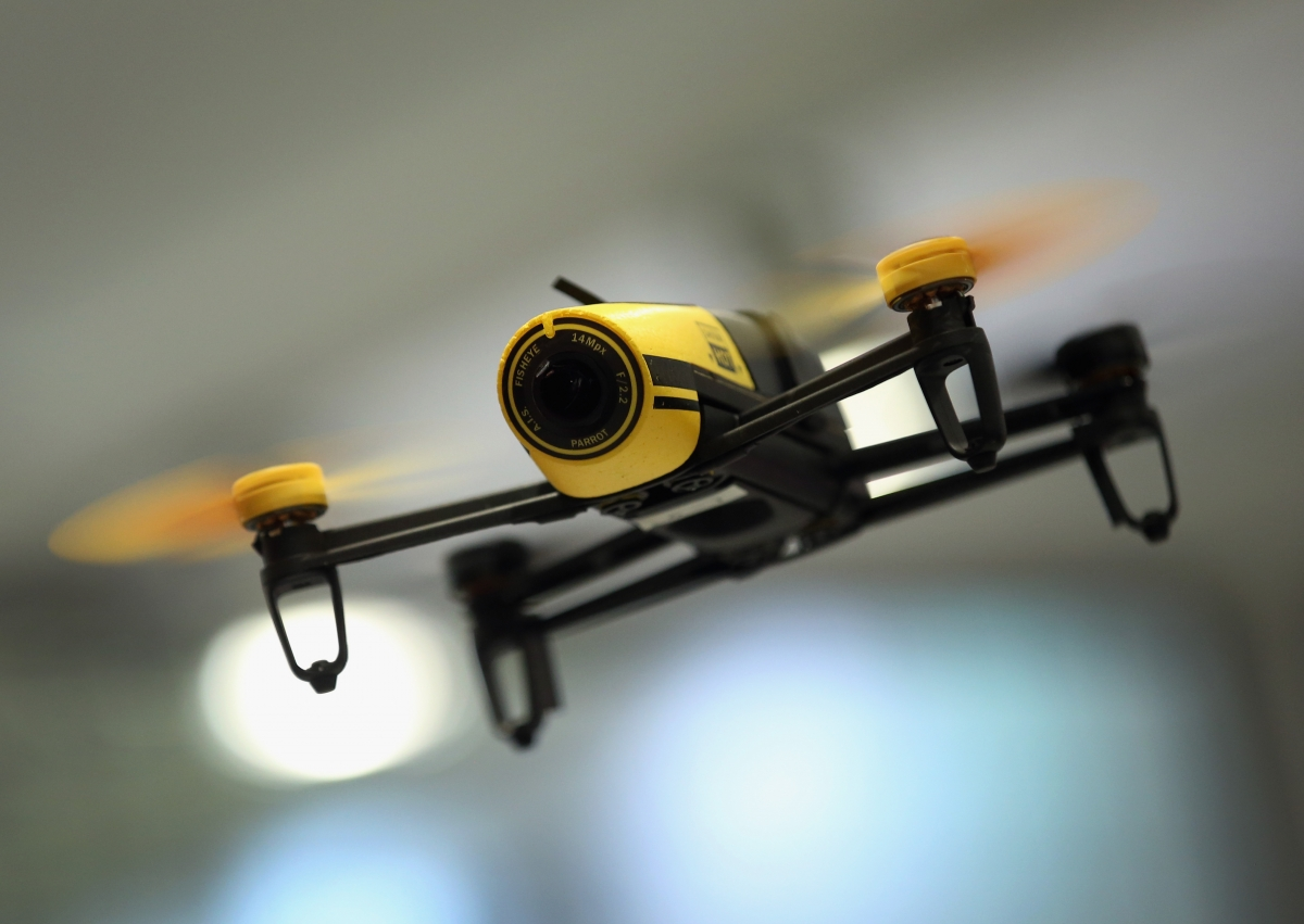 Drone near misses at UK airport