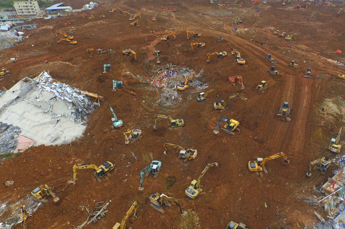 Landfill, Shenzhen