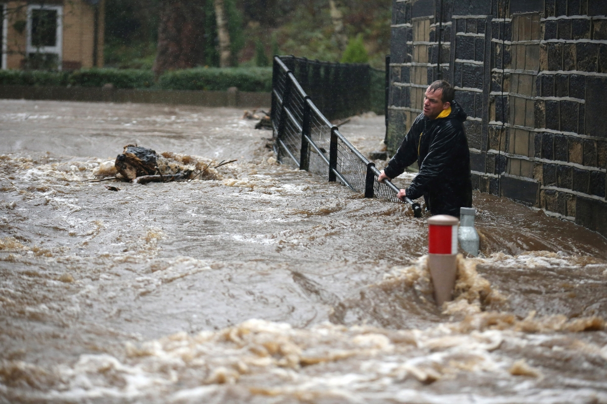 Severe Flood Warnings Issued For Northern England