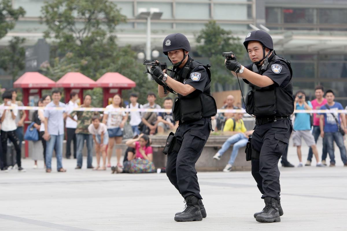 China counterterrorism
