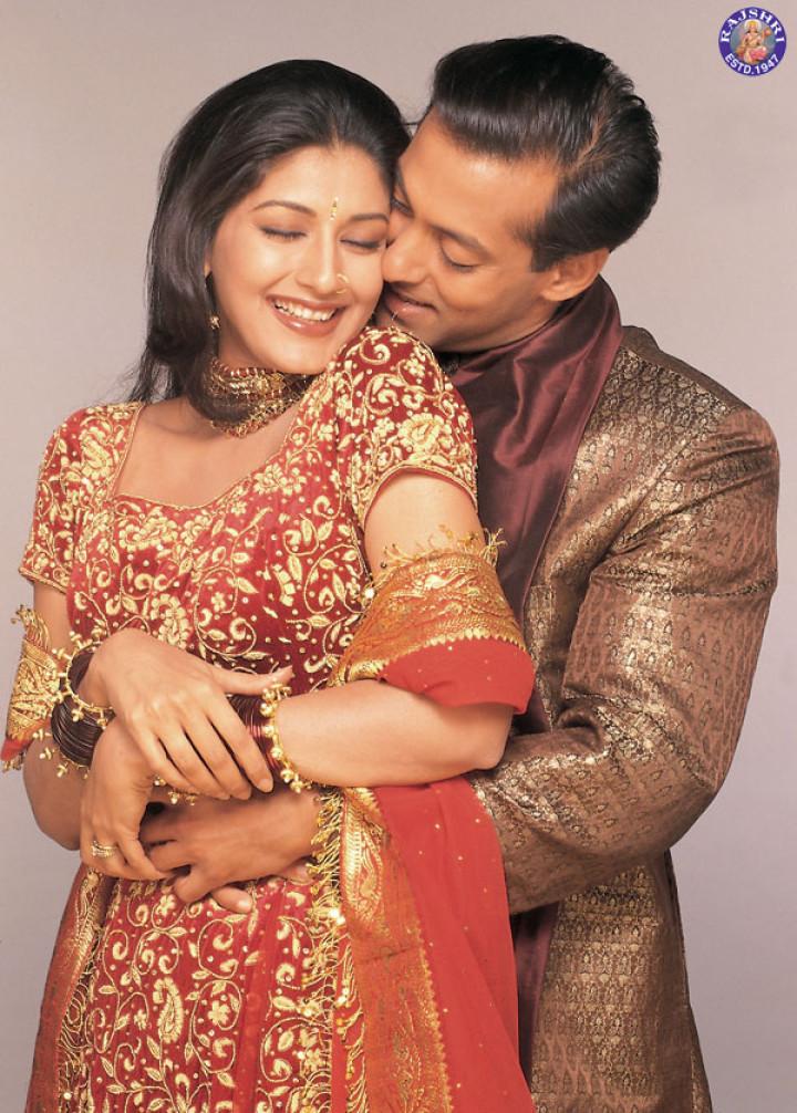 Salman Khan and Sonali Bendre