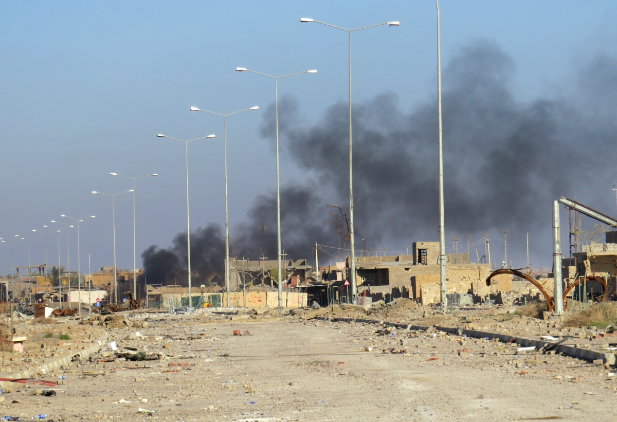 Battle for Ramadi Isis Iraq