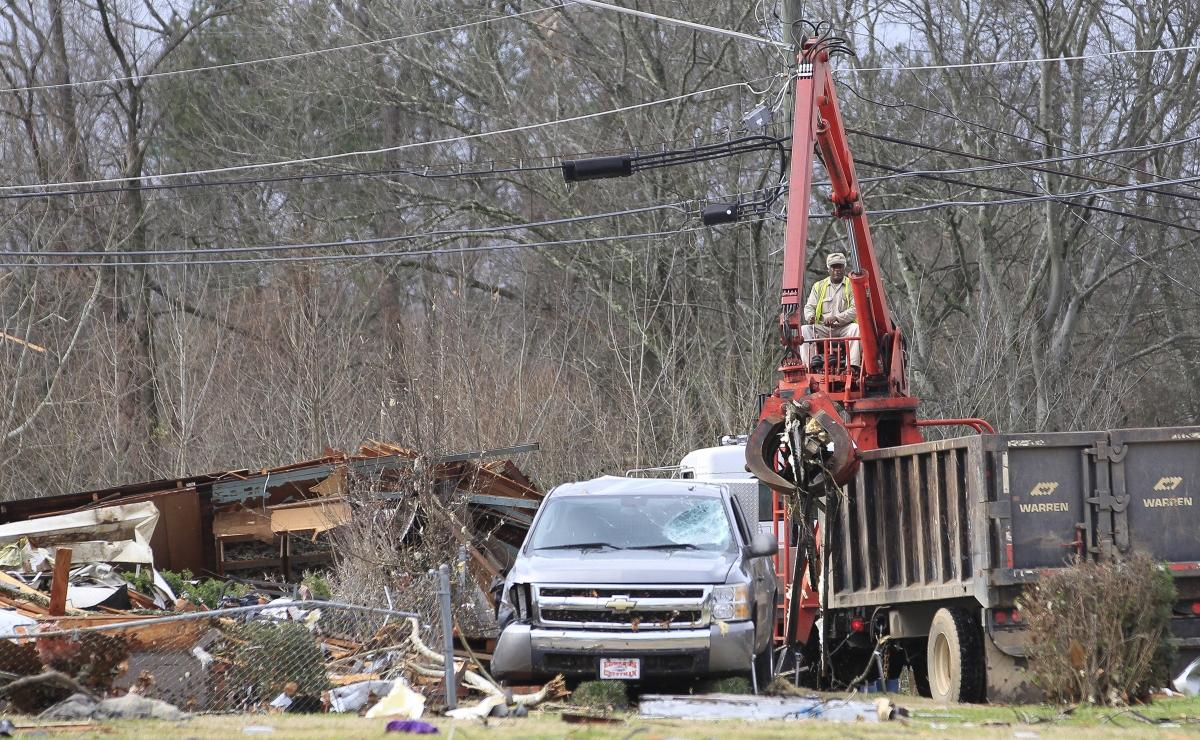 Alabama demolished