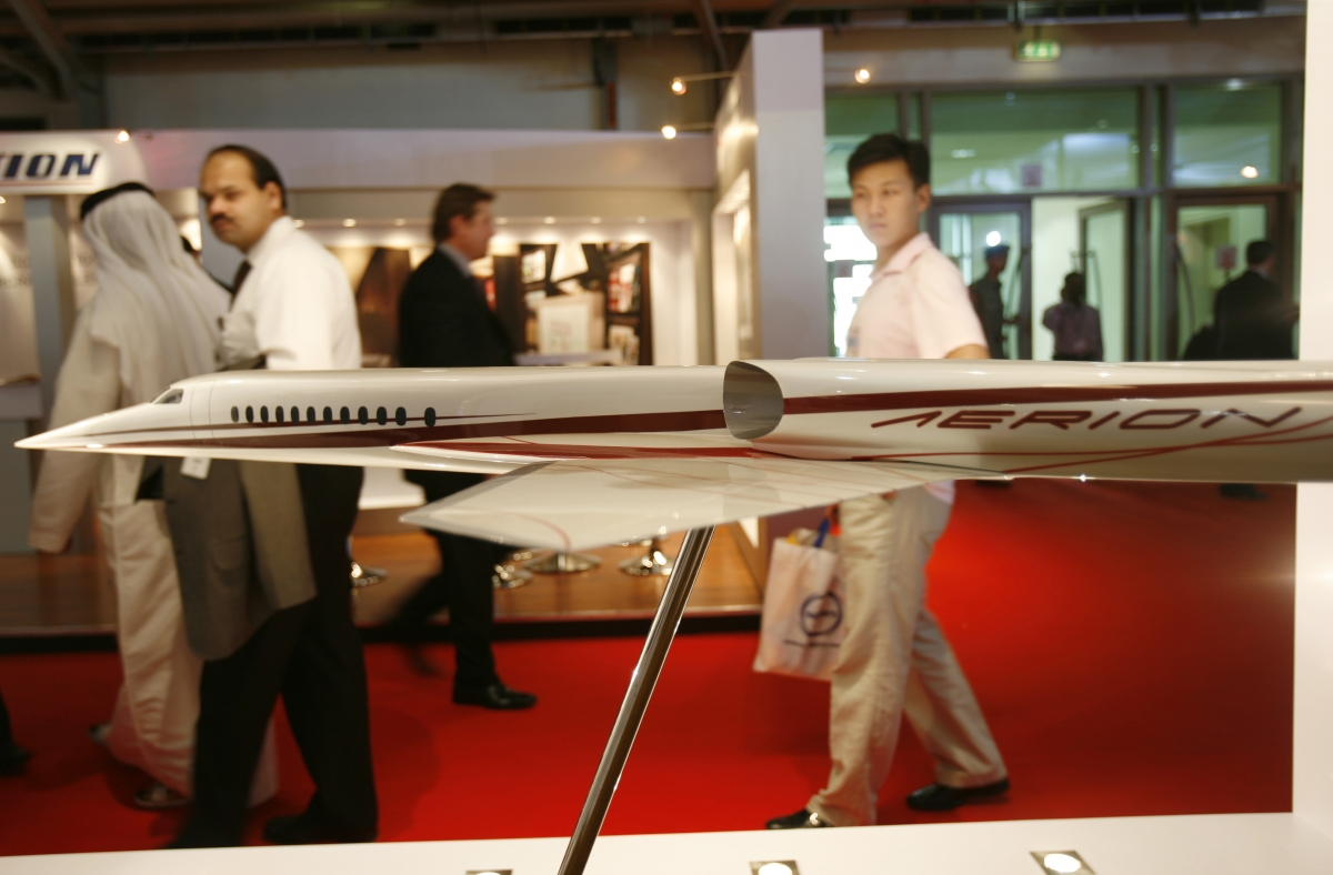 Rolls-Royce interested in providing engines for Aerion's supersonic business jets