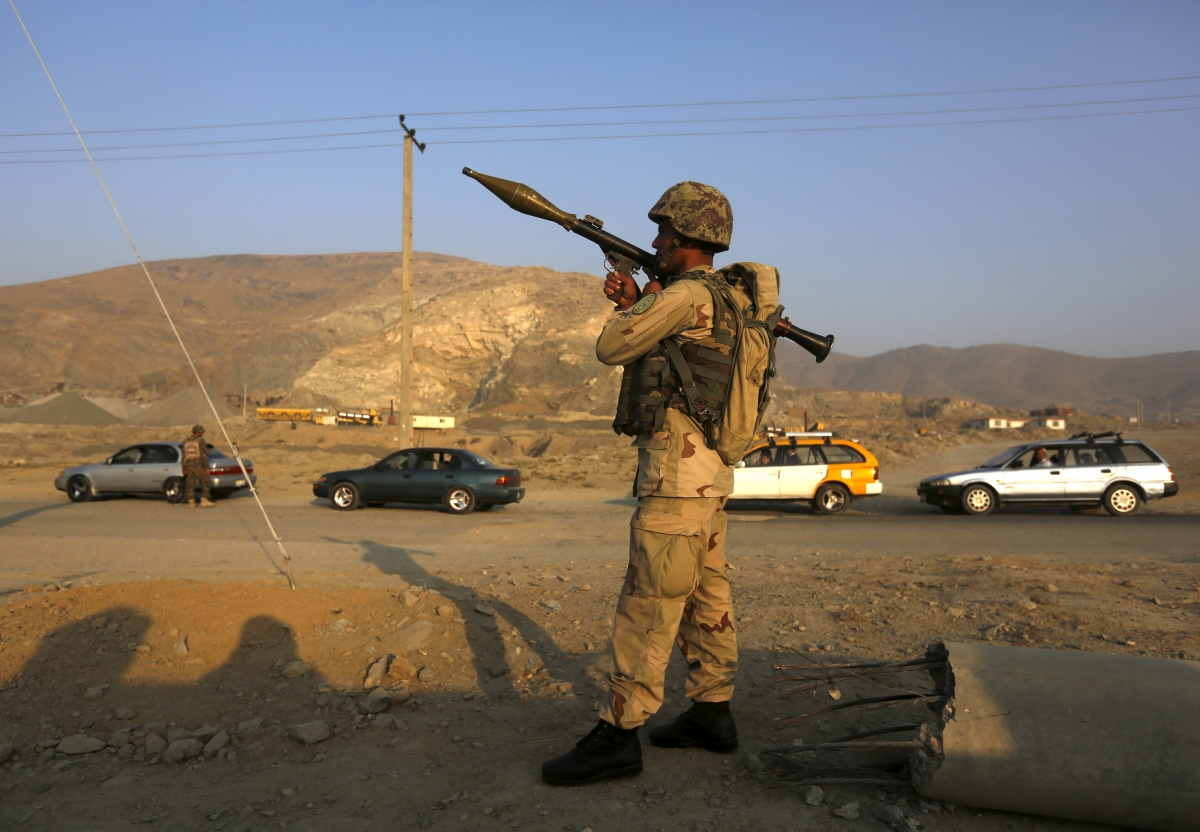 Afghanistan Kabul airport explosion