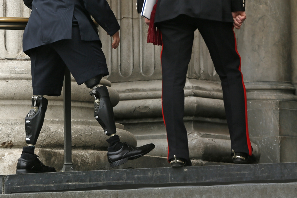 Afghanistan war veteran has to re-mortgage home to fund limb surgery