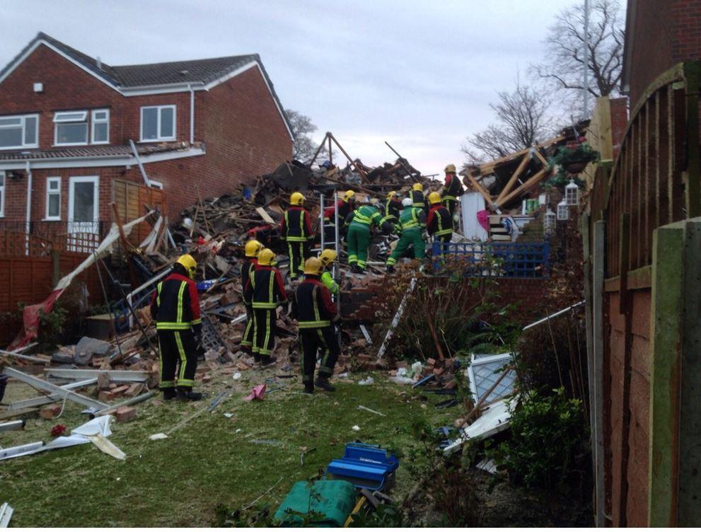 Wolverhampton house explosion