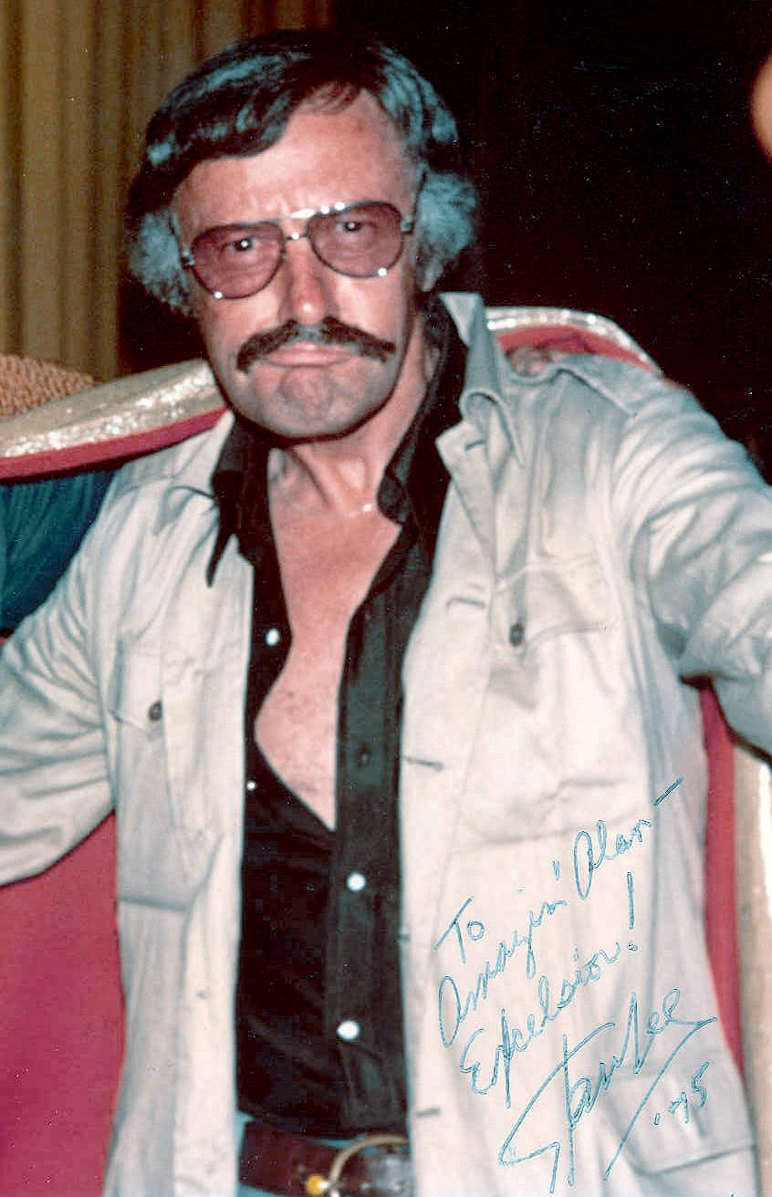 Stan Lee San Diego comic convention 1975