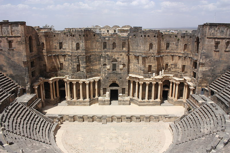 Roman theatre at Bosra