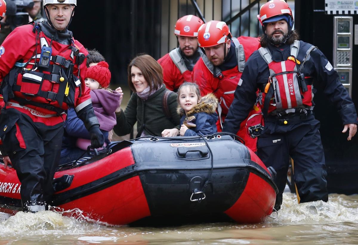 floods UK December 2015 York