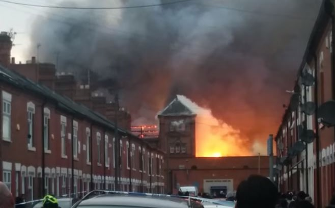 leicester fire