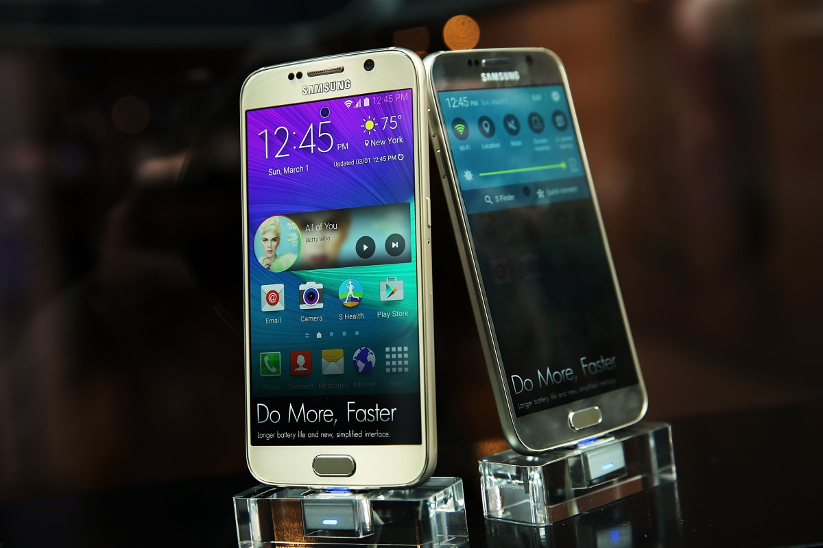 Galaxy S7 two screen variants