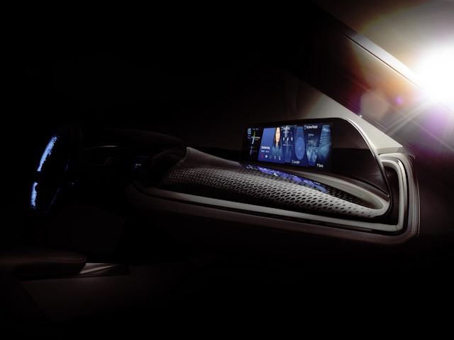 BMW's AirTouch with Contactless Touchscreen