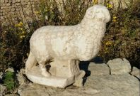 Ancient ram statue discovered in Israel