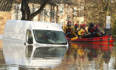 York floods