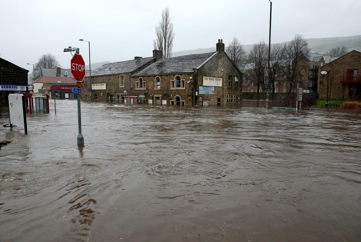 Mytholmroyd flood