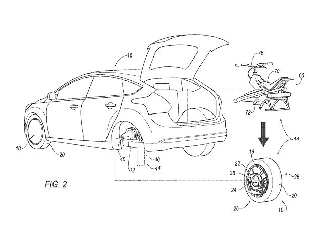 ford patent unicycle wheel batmobile