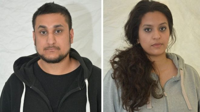 Mohammed Rehman and Sana Ahmed Khan were found guilty of preparing terrorist acts