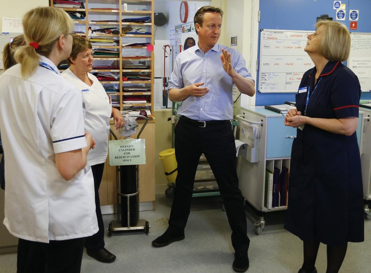 Cameron hospital visit