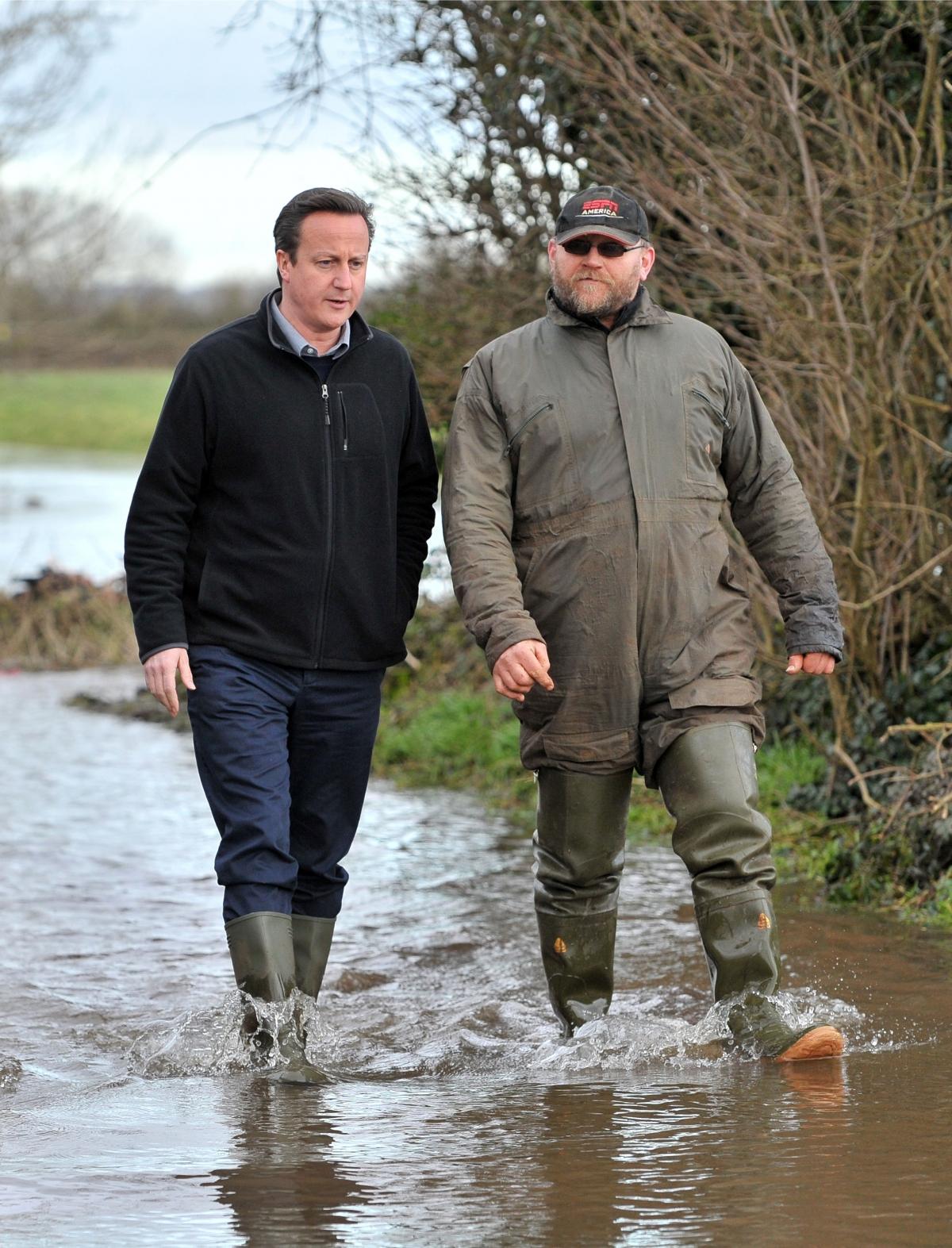 Cameron floods 2014
