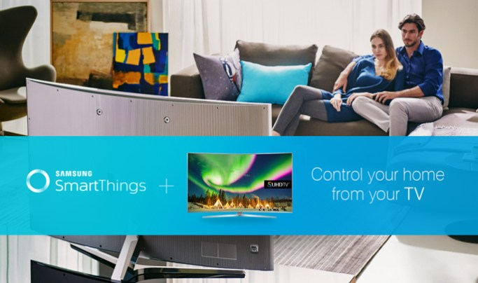 Samsung to incorporate SmartThings technology into 2016 smart TVs