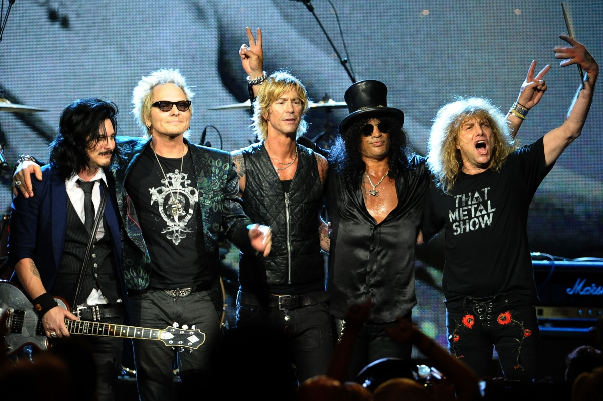 Guns N' Roses' 2016 reunion tour: Will it stop in Texas ...