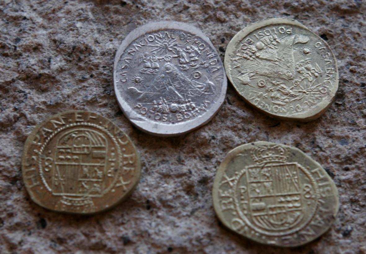 Bolivia coins