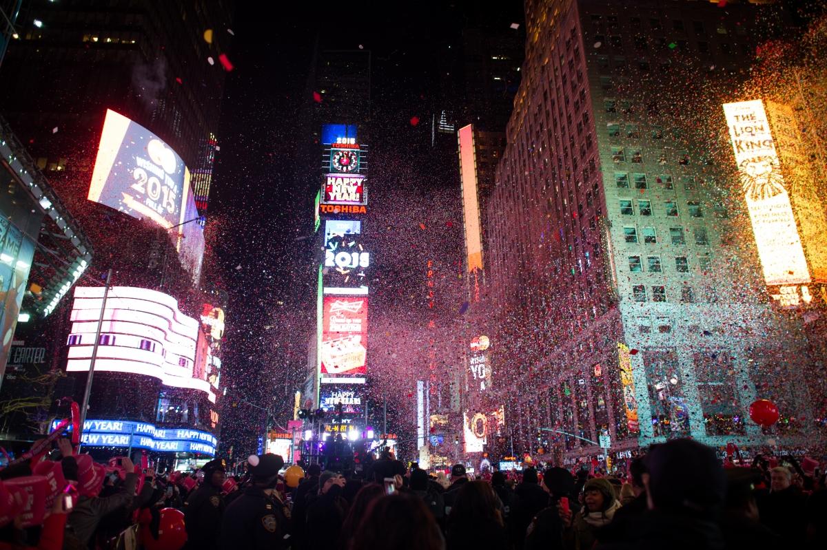 New Year boll drop