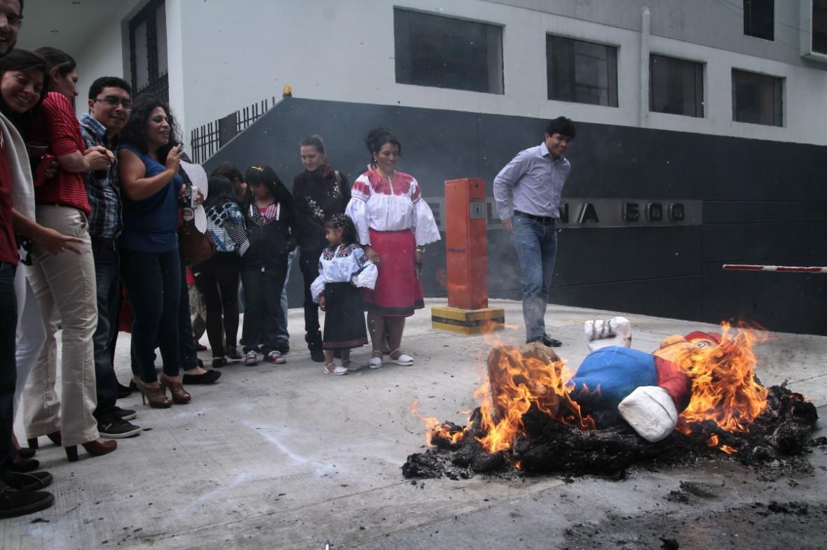Ecuador New Year