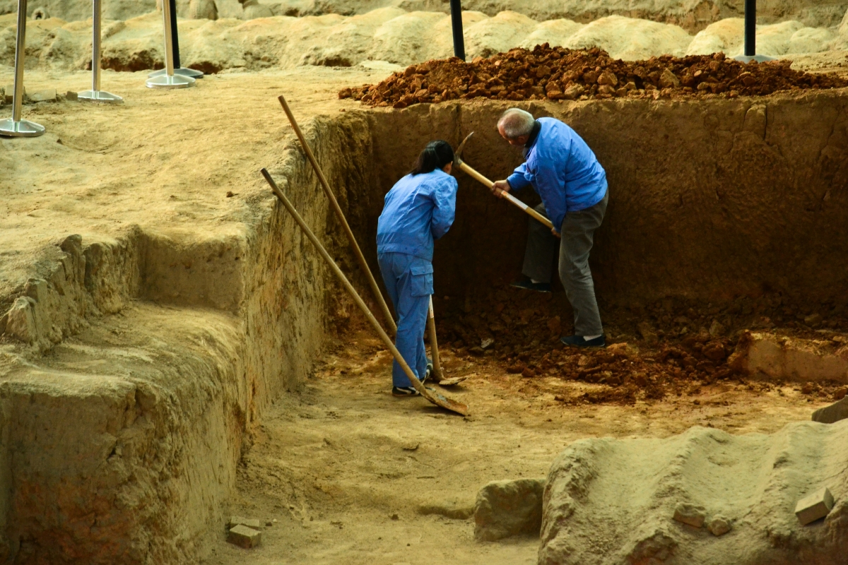 Archaeologists in China