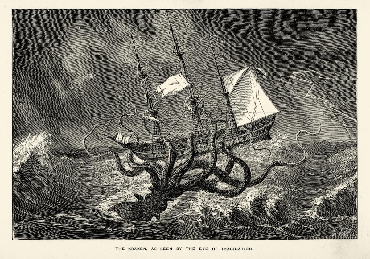 The Real Life Origins Of Legendary Kraken
