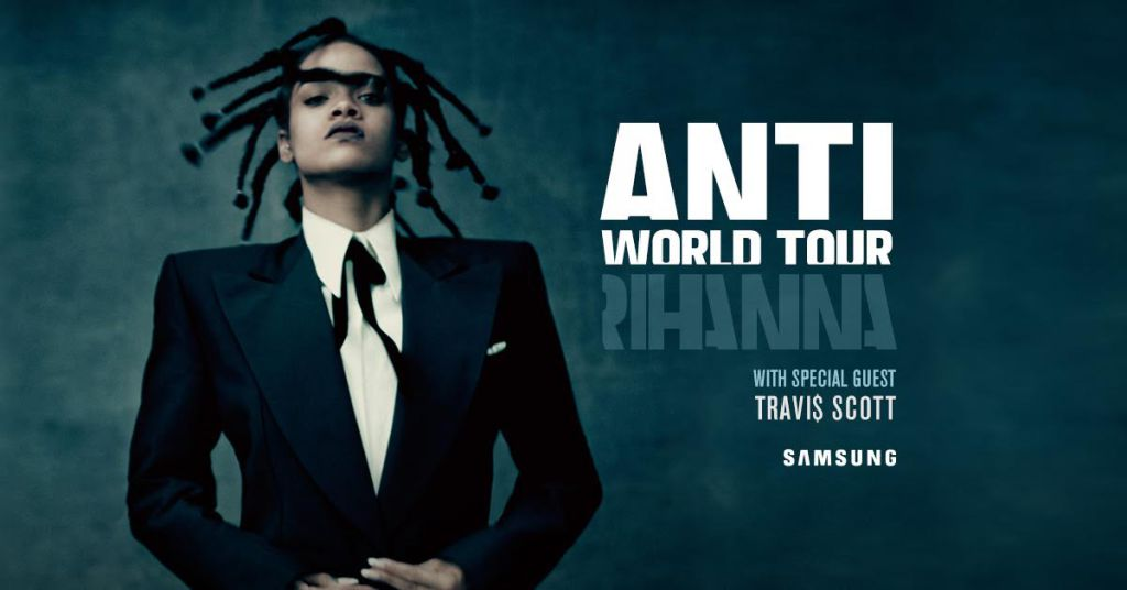 Rihanna Anti tour