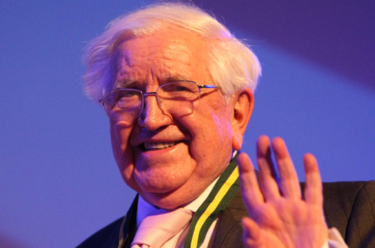 East End philanthropist Jack Petchey