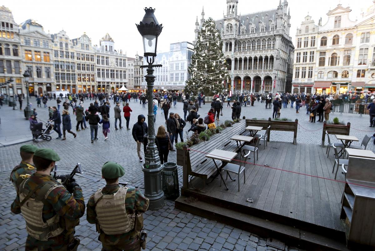 Brussels Belgium NYE 2015 terrorism