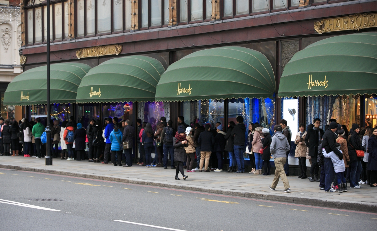 Online sales surge in December