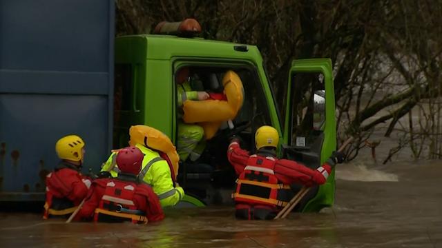 Dumfries floods