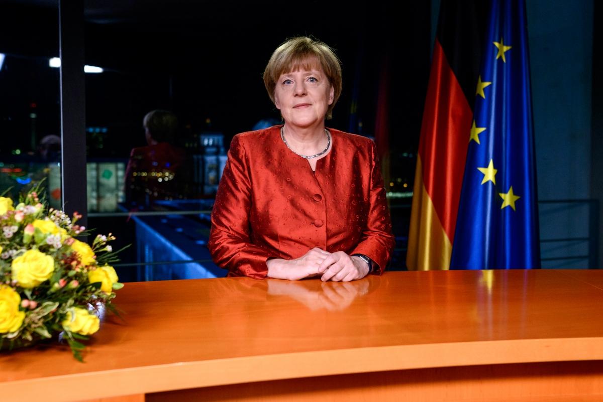Angela Merkel new years speech