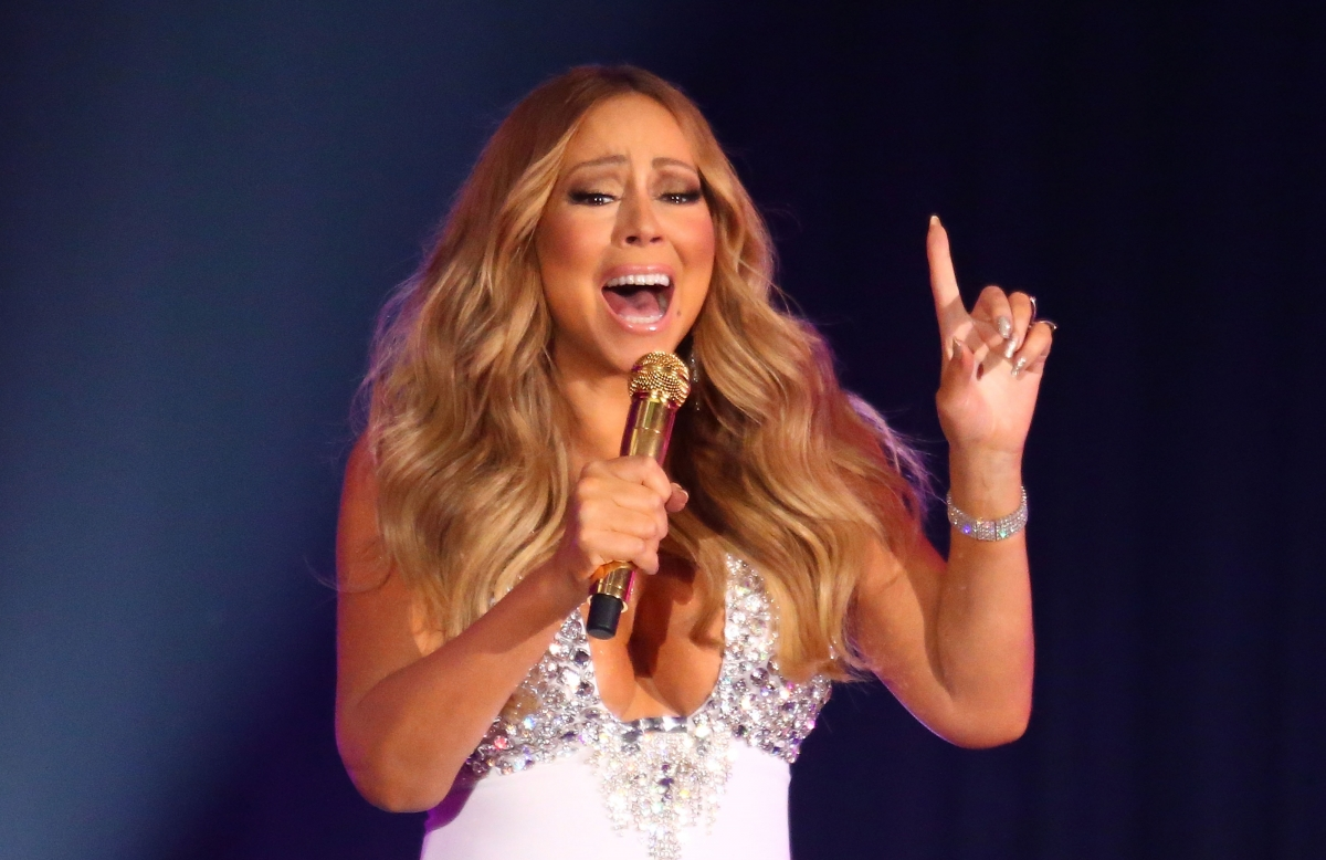 Mariah Carey NYE New Year 2016