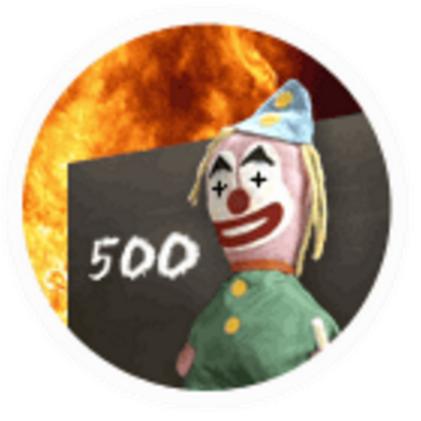 BBC down clown 500 error