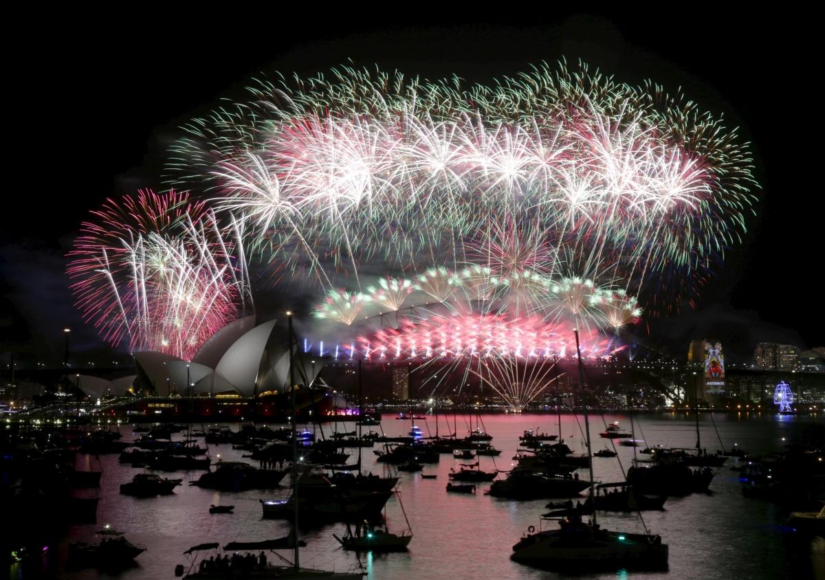 New Year 2016 Sydney Australia