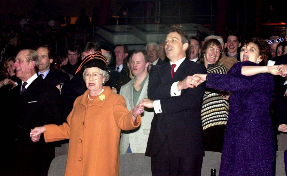 The Queen and Tony Blair